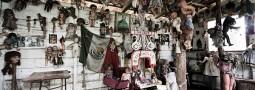 La mystérieuse île des poupées, au Mexique.