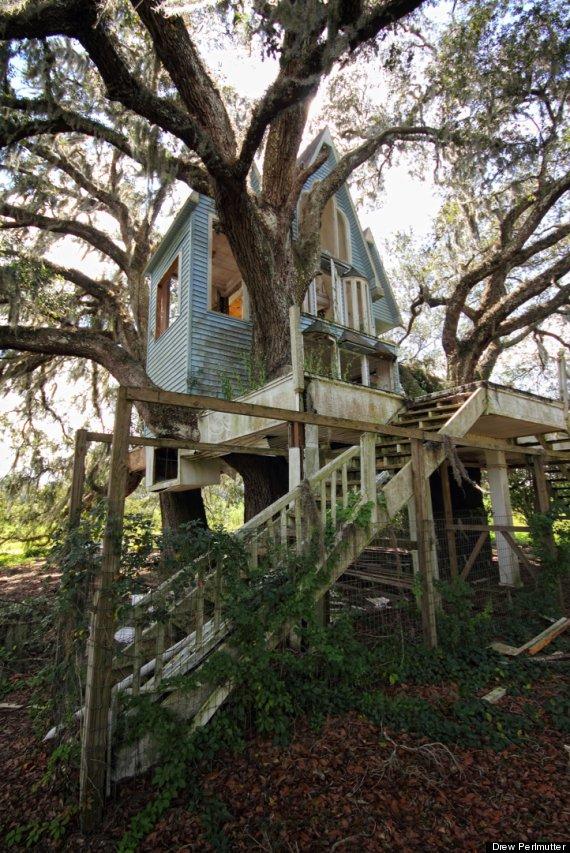 Abandoned Treehouse Mansion